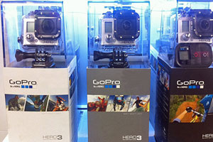 GoPro Camera Models hero 3