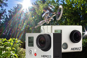 GoPro Camera Models HERO 2 now updated and repackaged as the Silver Edition