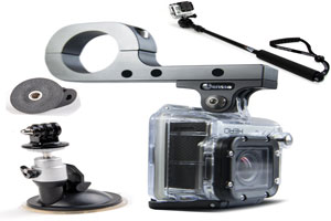 GoPro mounting options